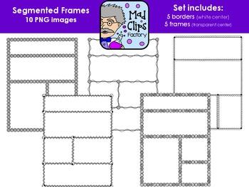 Segmented Frames