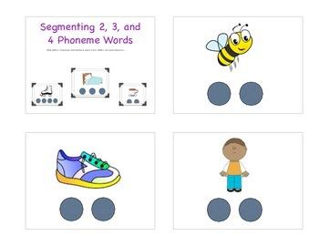 Segmenting 2, 3, and 4 Phoneme words