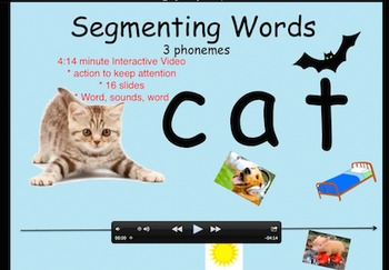 Segmenting 3 Phoneme Words