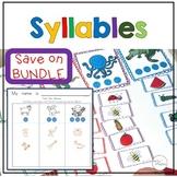 Blending and Segmenting Syllables Phonemic Awareness BUNDLE