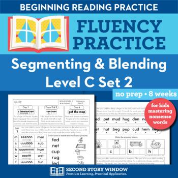 Segmenting & Blending Nonsense Word Fluency Level C Set 2