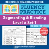 Segmenting & Blending Nonsense Word Fluency Practice Level A
