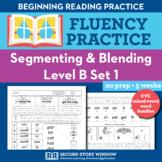 Segmenting & Blending Nonsense Word Fluency Practice Level B
