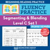 Segmenting & Blending Nonsense Word Fluency Practice Level C