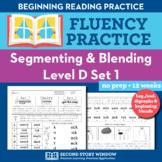 Segmenting & Blending Nonsense Word Fluency Practice Level D