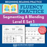Segmenting & Blending Nonsense Word Fluency Practice Level E