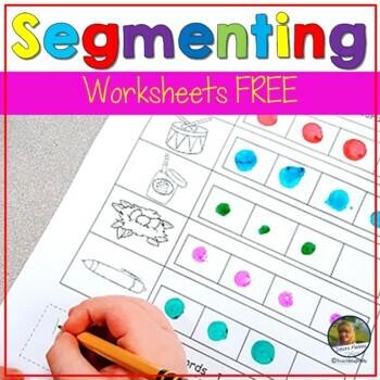 Word Segmenting Worksheets Teaching Resources Teachers Pay Teachers