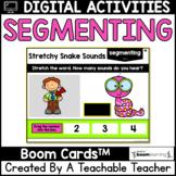 Segmenting Sounds Boom Cards | Phonemic Awareness Boom Cards