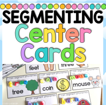 Segmenting Phonemes Center Cards