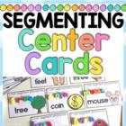Segmenting Phonemes Center Cards