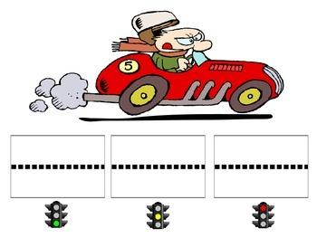 Segmenting Raceway Activity