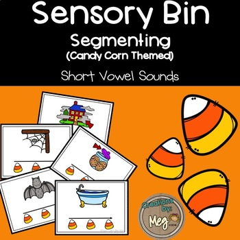 Sensory Bin - Segmenting CVC Words For Kindergarten and First Grade