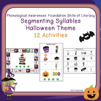 Segmenting Syllables - Halloween Theme: Phonological Awareness
