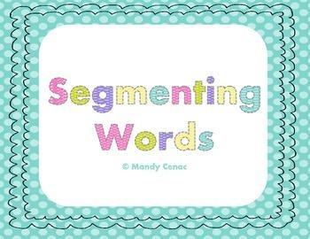Segmenting Words Board Games