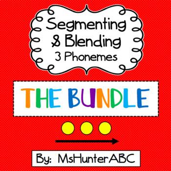 Segmenting and Blending 3 Phoneme Bundle
