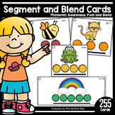 Segmenting and Blending Cards: Phonemic Awareness