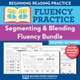 Segmenting and Blending Nonsense Word Fluency Practice Homework or Intervention