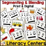 Segmenting and Blending Literacy Center Activities