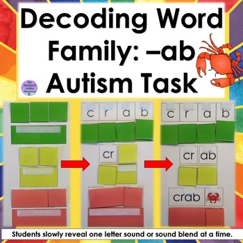 Decoding Word Family- ab (Autism and Special Education)