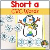 Segmenting and Blending Snowmen cvc Short a Words