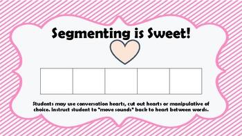 Segmenting is Sweet! Valentine's Segmenting Board