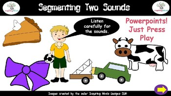 Segmenting words with 2 sounds Teacher Led Interactive