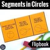 Segments in Circles Foldable