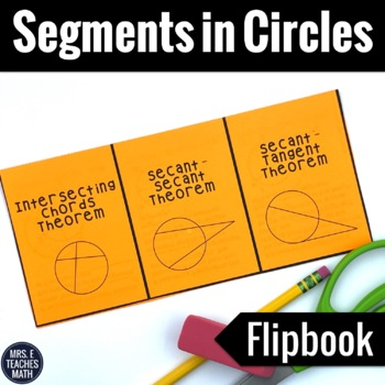Segments in Circles Foldable