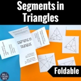Segments in Triangles Foldable