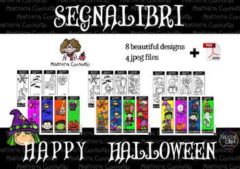 Segnalibri Halloween Bookmarks 2017