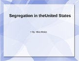 Segregation PowerPoint