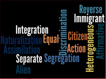 Segregation and Discrimination Lesson Plan
