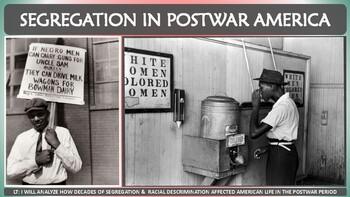 Segregation in Postwar America Activity for U.S. History Classes