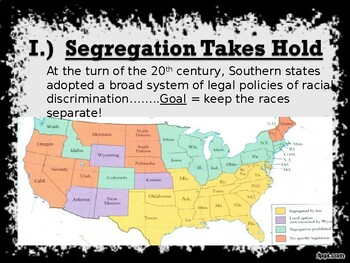 Segregation in the 1900's