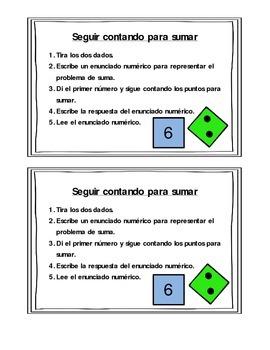 Seguir contando para sumar/Count on to Add