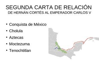 Segunda carta de realción de Hernán Cortés a Carlos V
