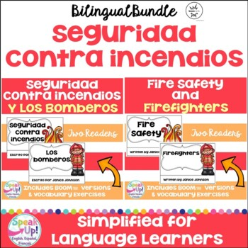 Seguridad contra incendios/bomberos {Fire Safety/Firefighters Readers -Bilingual