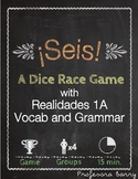 Seis: A Dice Race Game to Review Realidades 1A (Spanish 1)