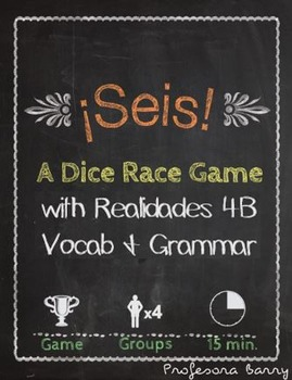 Seis: A Dice Race Game to Review Realidades 4B (Spanish 1)