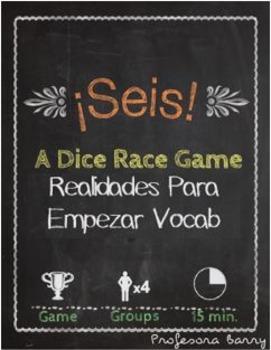 Seis: A Dice Race Game to Review Realidades Para Empezar (