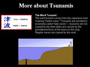 Seismic Waves and Tsunamis