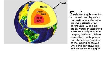 Seismograph Explination