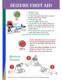 Seizure First Aid Poster