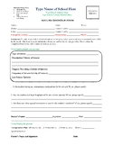 Seizure Information Form