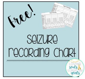 Seizure Recording Sheets Freebie