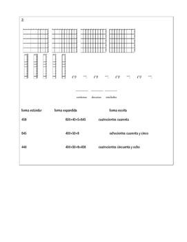 Selecion de forma escrita, estandar y expandida de bloques (SPANISH)