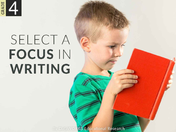 Select a Focus in Writing