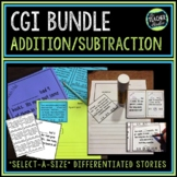 Select-a-size BUNDLE:  CGI Style Word Problems for Grades 1-3