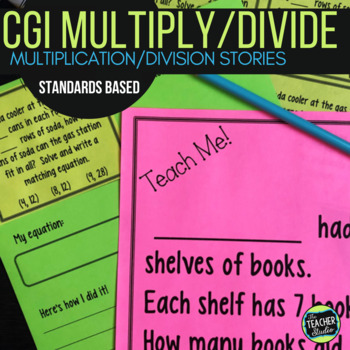 Select-a-size Multiplication and Division Stories: CGI Word Problems--Grades 2-4