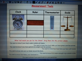 Select the Tool to Measure